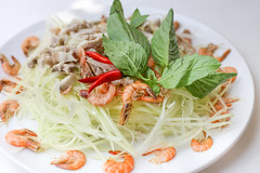 Nhoim Lahong (Papaya Salad) / Anyone?