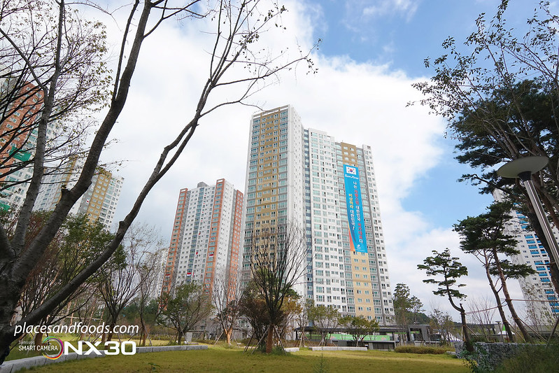 samsung incheon athletes village condominiums