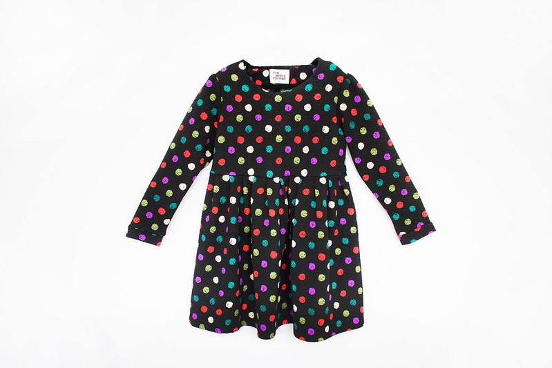 The Whitepepper Polka Dot Smock