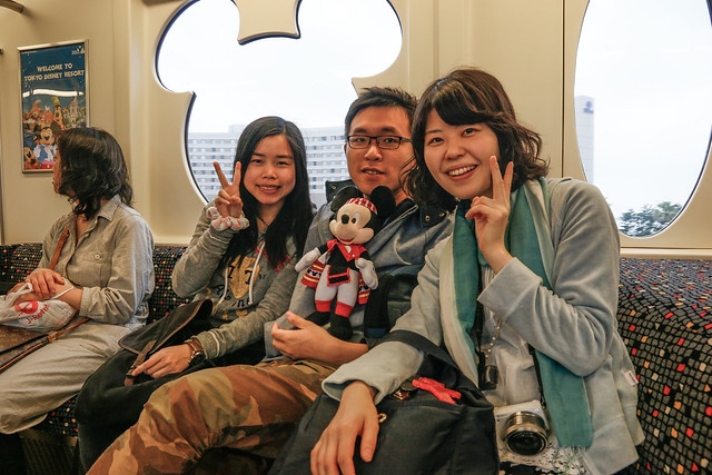 Tokyo Disney Resort Monorail 單軌列車