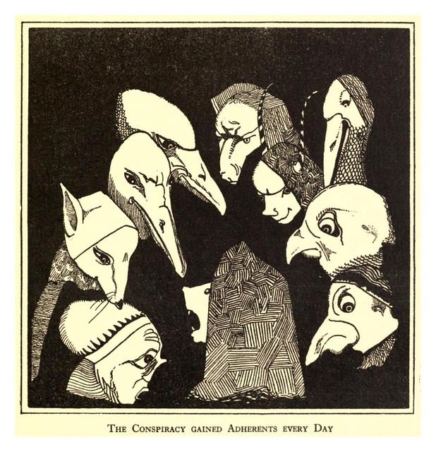 007-Folk tales of Flanders (1918)- Jean de Boschère