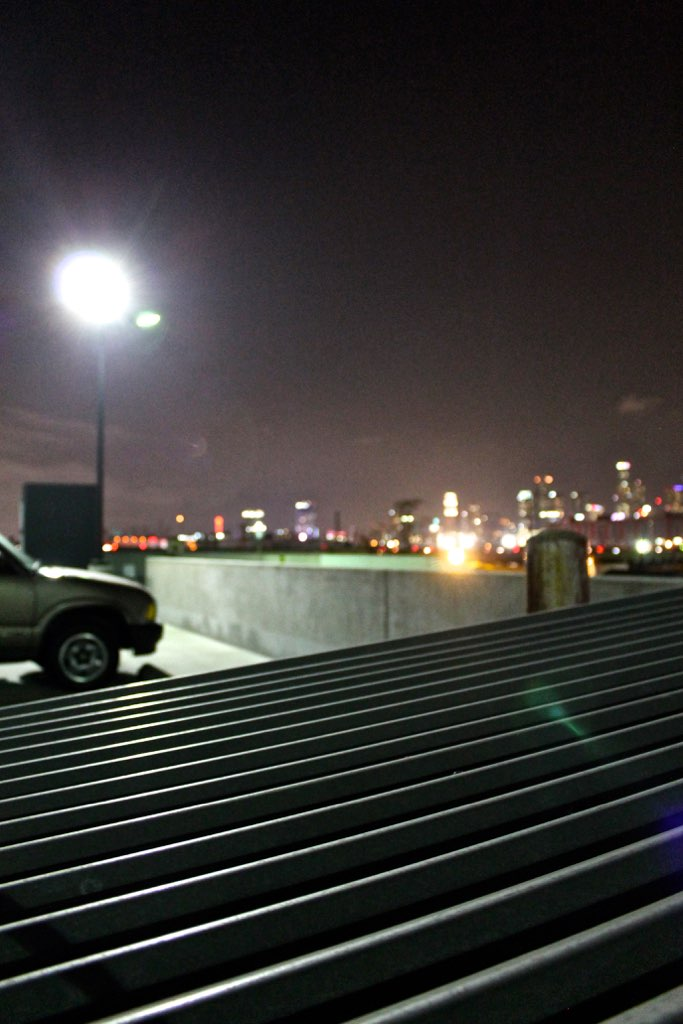 DTLA skyline night photography