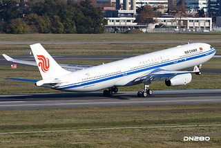 Air China A330-341 msn 1587