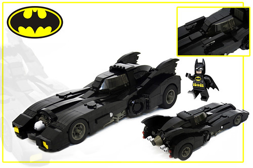 89 Batmobile LED scale