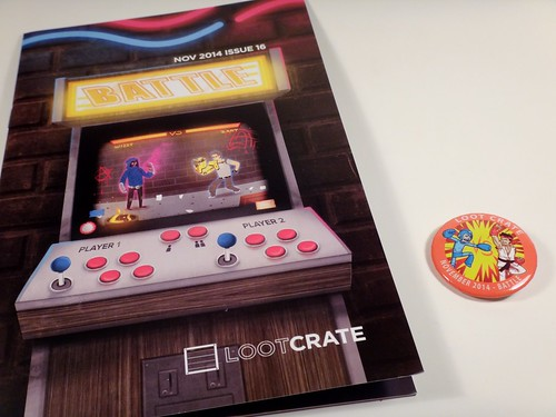November 2014 Loot Crate Mag & Button