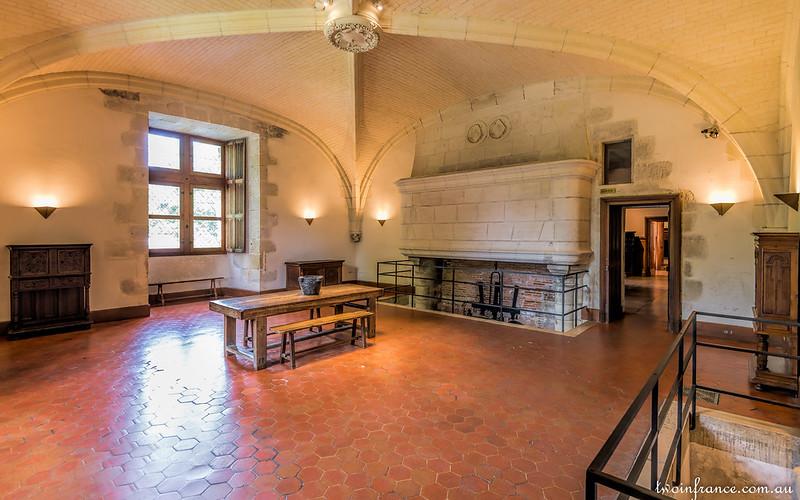 Château d'Azay-le-Rideau - The Kitchen
