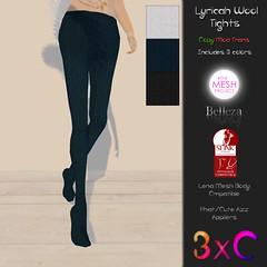 lyricah wool tights