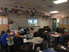 Skyping with the CBC's Lindsay Sample about investigative reporting