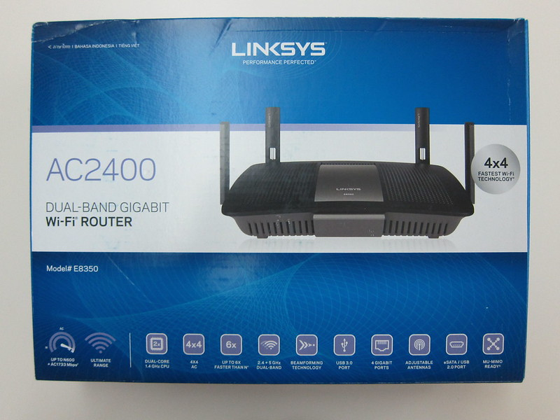 Linksys E8350 - Box Front