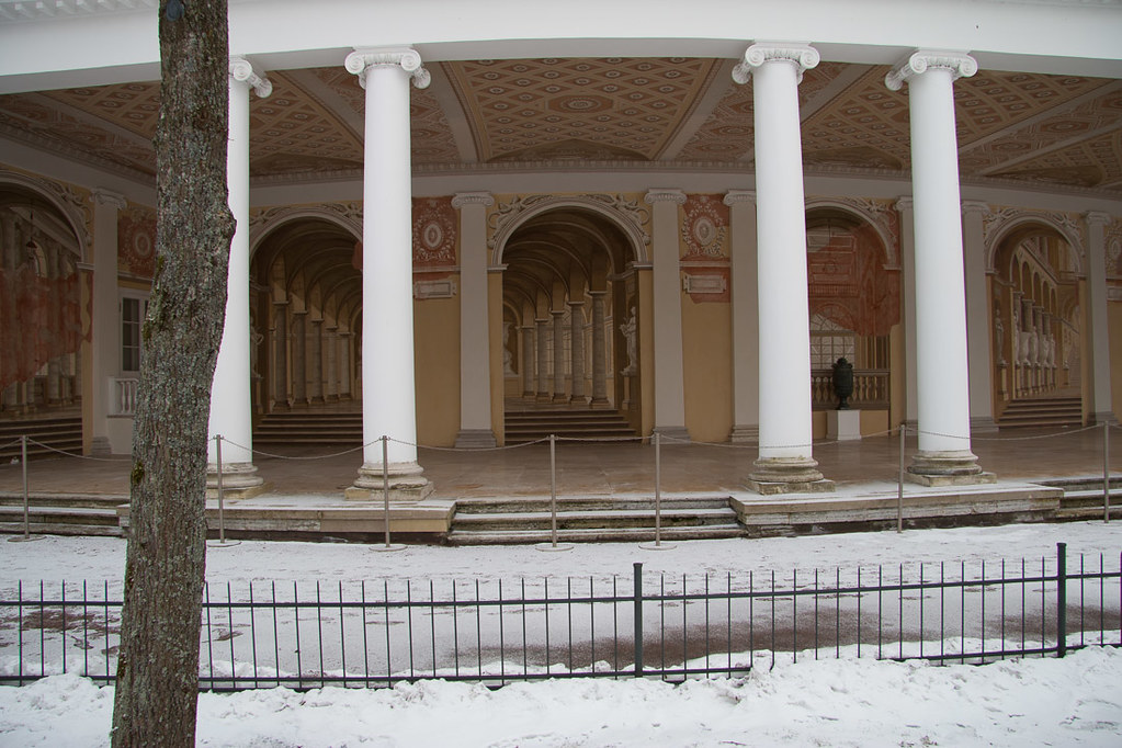 Rear of Pavlovsk Palace