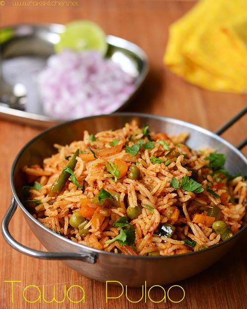 Tawa pulao recipe easy indian one pot meals raks kitchen tawa pulao recipe forumfinder Choice Image