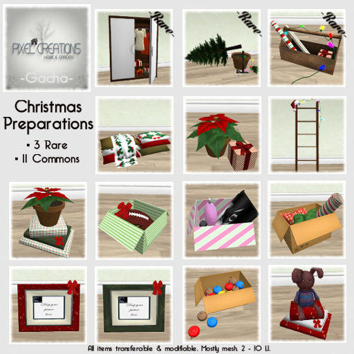 [PC] PIXEL CREATIONS -  GACHA CHRISTMAS PREPARATIONS
