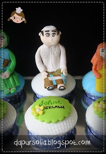 Cupcake Set Pak Kiai