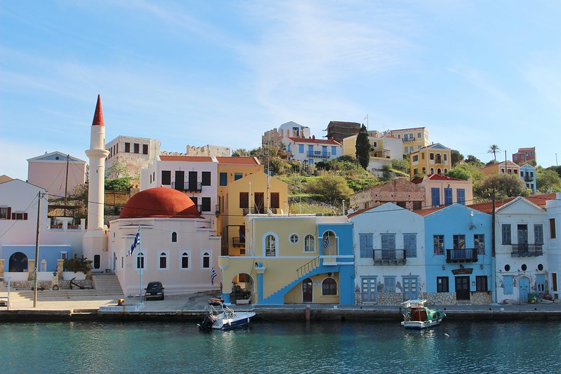 Kastellorizo houses, Greece