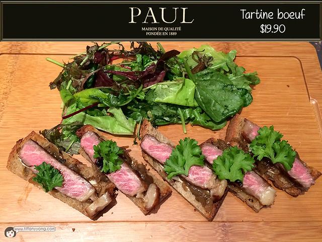 PAUL tartine boeuf
