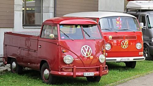 VW T1 Pick Up & T2a Combi