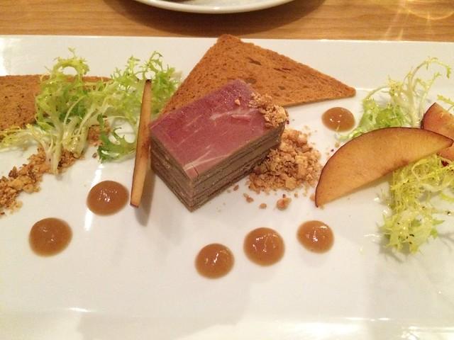 Foie gras mille-feuille - Table
