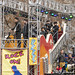 Dan and Shay on Gibson Guitar Float at Macy's Thanksgiving Day Parade