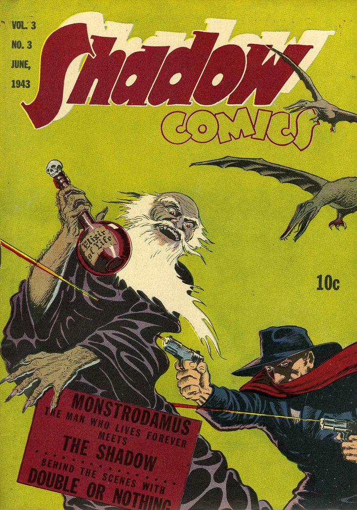 Shadow Comics V3#3 Mile High pedigree (Street & Smith, 1943)