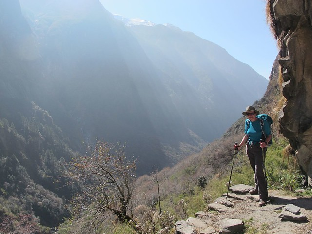 Annapurna Trek: Day 8 Dovan to MBC