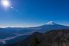 三ッ峠山荘からの富士山