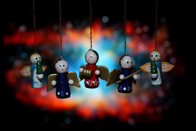 little wood angels