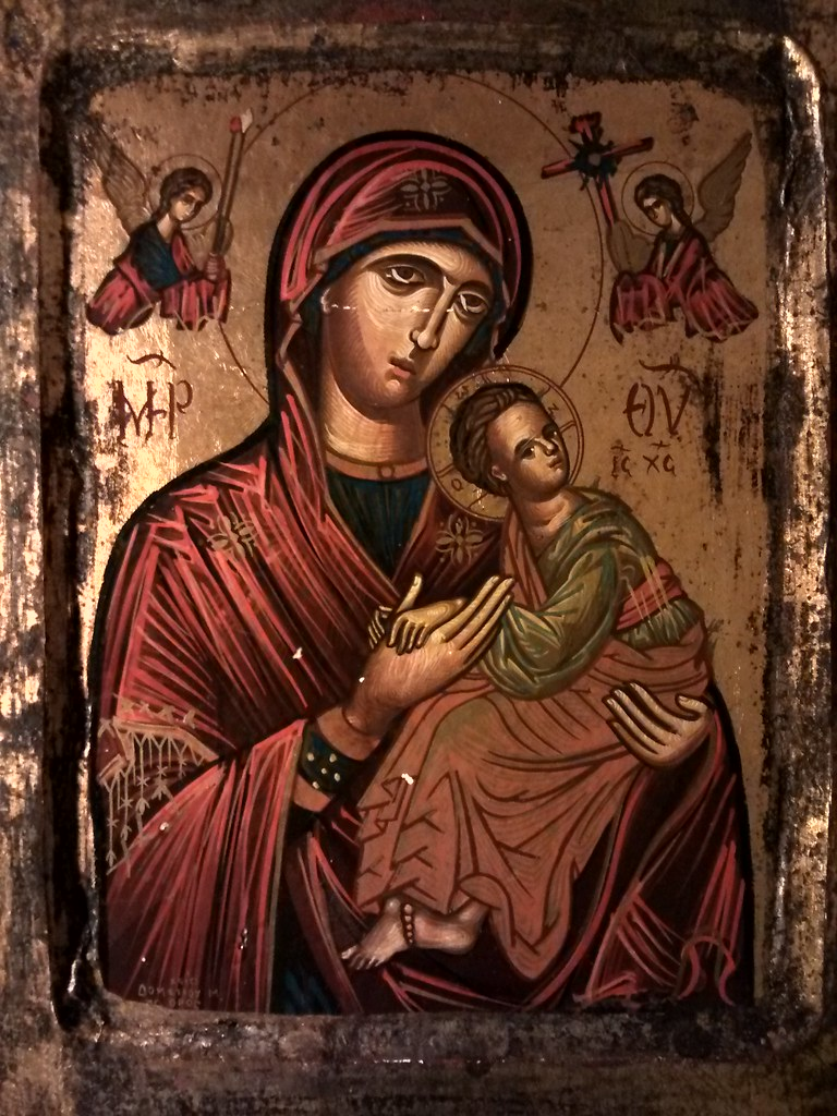 Early 20 century icon from Mount Athos