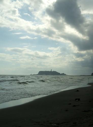 夏休みには湘南に_七里ヶ浜海岸と江ノ島