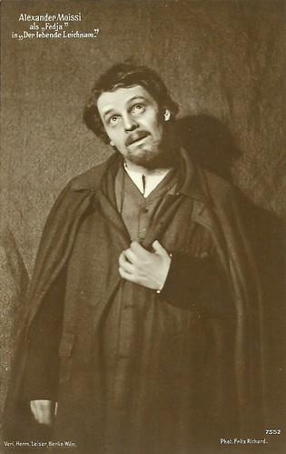 Alexander Moissi in Der lebende Leichnam