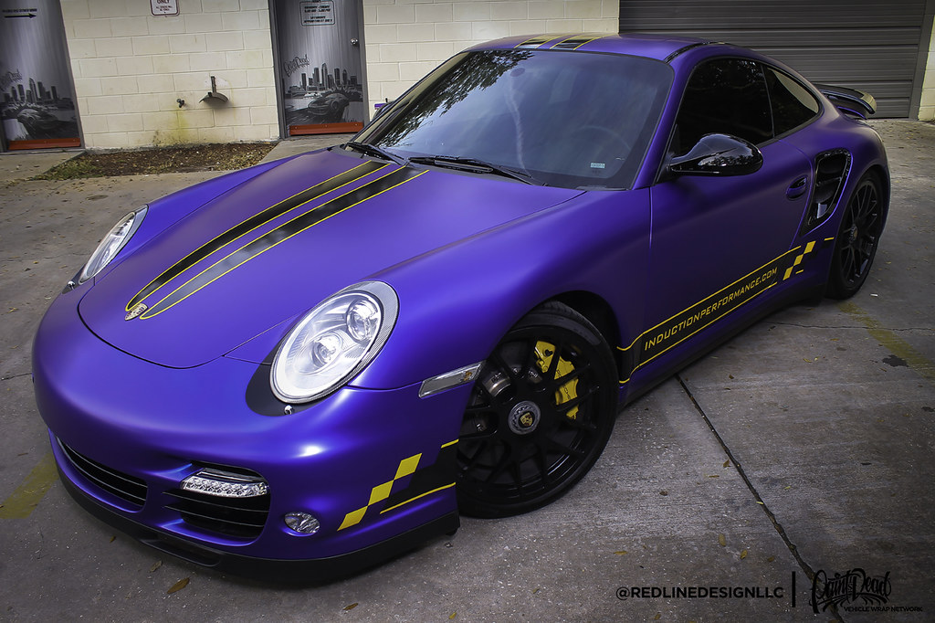 Satin Mystique Blue Gt3 Redline Design Llc Paint Is Dead