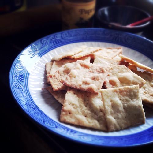 Sea, Salt, White, Pepper, Crackers,, recipe, chinese style, wheat thins,  海鹽, 白胡椒, 脆餅