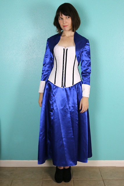 Bioshock Infinite Elizabeth Cosplay (in progress)