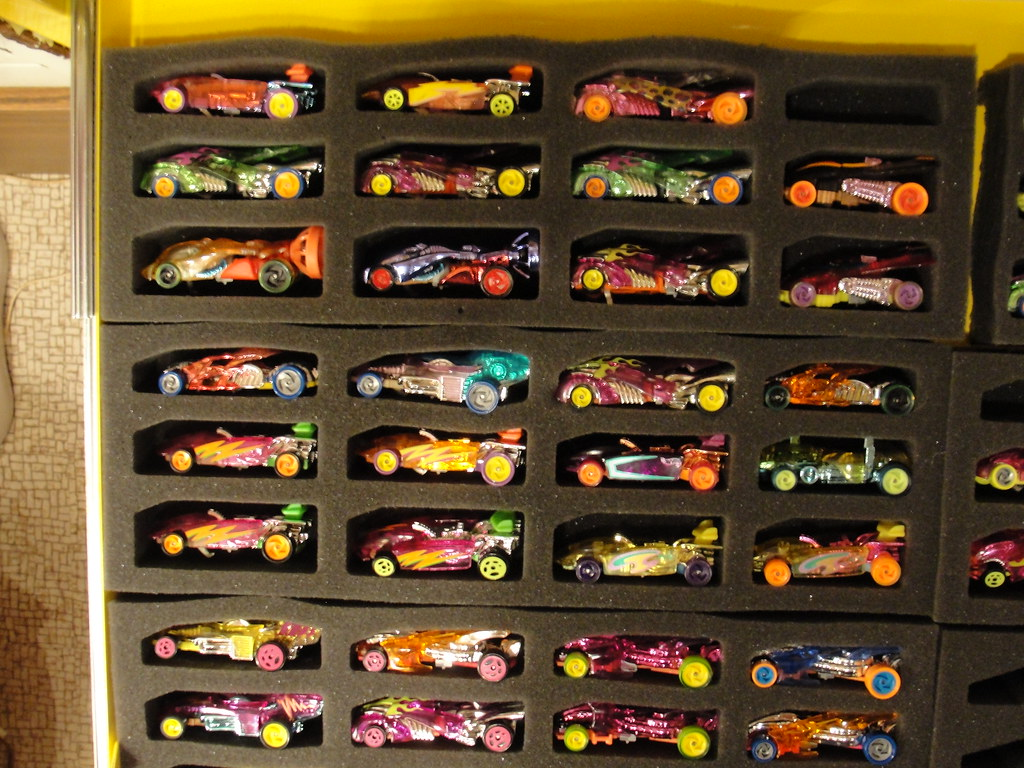 Tool Box Hot Wheels Storage Hot Case Foam Inserts In My Cr Flickr
