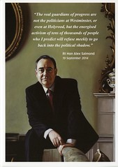 Christmas Card from First Minister Alex Salmond