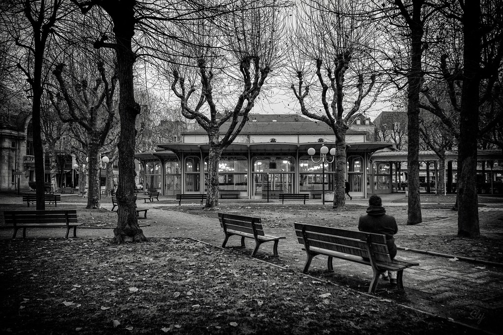Winter Park BW