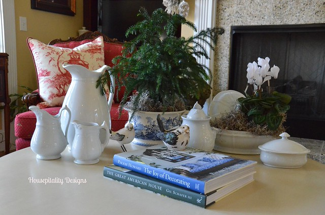 Ironstone Winter Vignette-Housepitality Designs