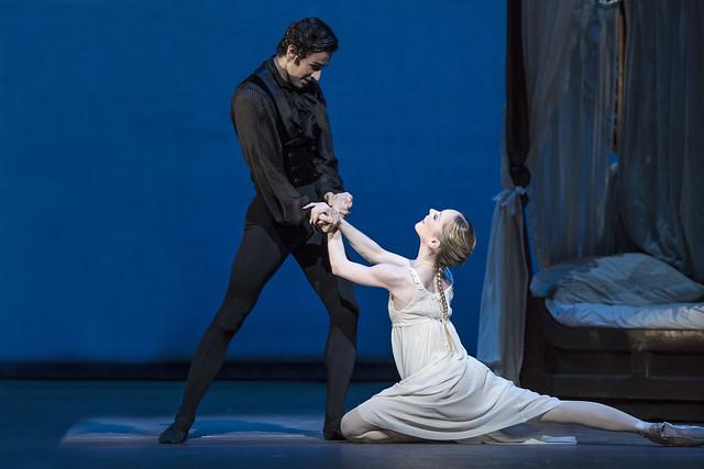 Valeri Hristov as Onegin and Sarah Lamb as Tatiana in Onegin, The Royal Ballet © ROH/Bill Cooper, 2013