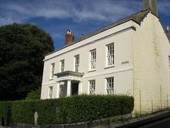 Helston, Cornwall. House on Cross Street.