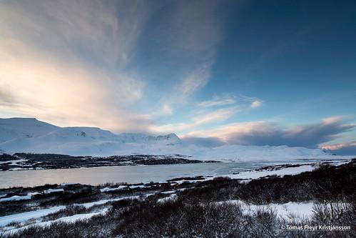winter cold landscape snjór vetur ský landslag skorradalur skessuhorn skorradalsvatn