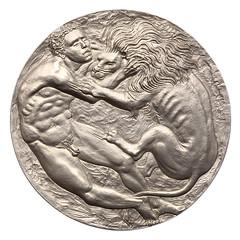 Royal Numismatic Society medal 2008 obverse