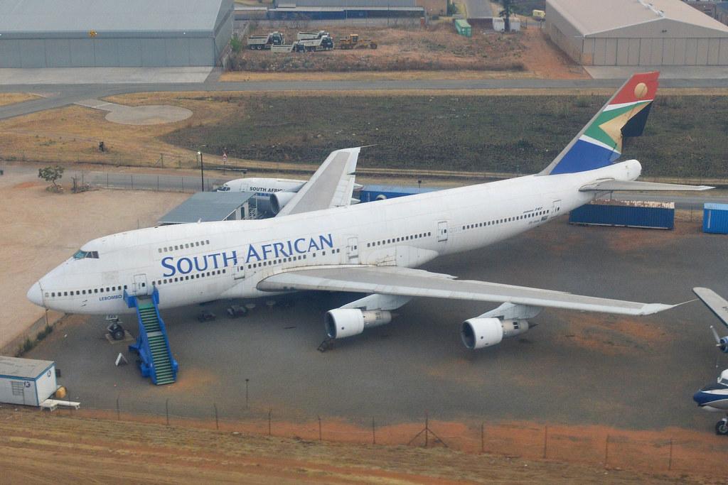 Boeing 747-244B 'ZS-SAN'