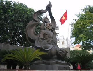 Thích Quảng Đức Memorial 的形象. vietnam saigon hochiminhcity