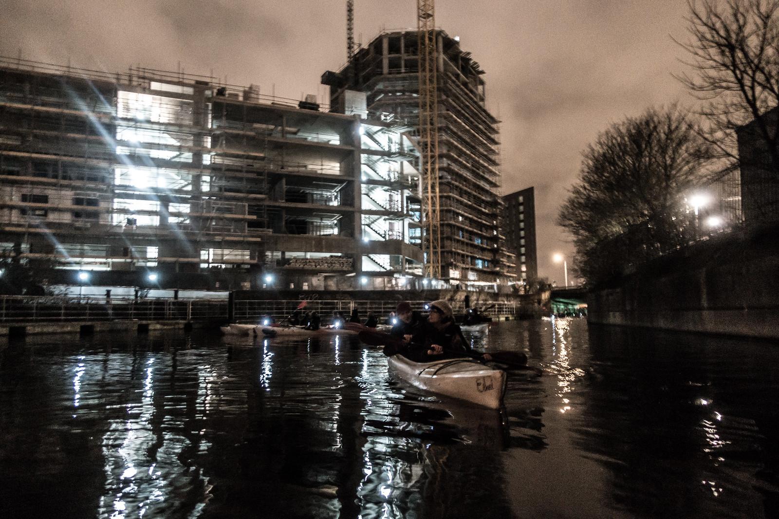 Secret Adventures Canoe at Night-9