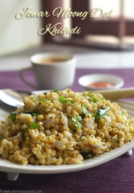 Jowar Khichdi Recipe