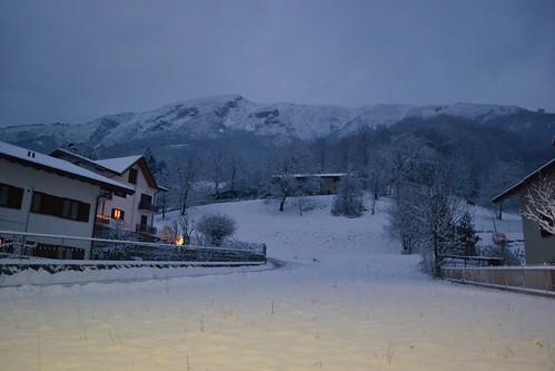 Moggio - Nevicata
