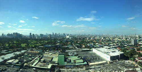 Greenhills and Metro Manila panorama