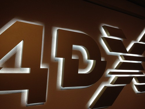 4DX movie theater