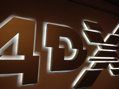 4DX movie theater