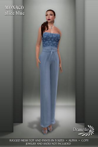 DANIELLE Monaco Alice Blue