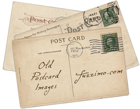 Free Download: Old Postcard Images